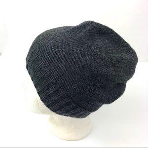 Ralph Lauren Beanie Gray Wool Men's/Women's